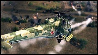 Russian Air Sea and Land Assault - Battle of Hill 55 | Men of War Assault Squad Modern Mod Gameplay