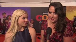 Coco Movie U.S. Premiere || Olaf's Frozen Adventure - B-Roll and Soundbites || #SocialNews.XYZ