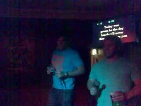 Karaoke - Greg and Jesse - Wonderwall