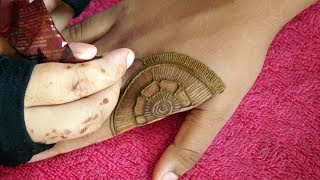 Quick Floral Party Mehndi Design For Beginners