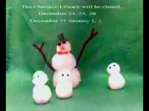 Clarence Library Holiday 2016