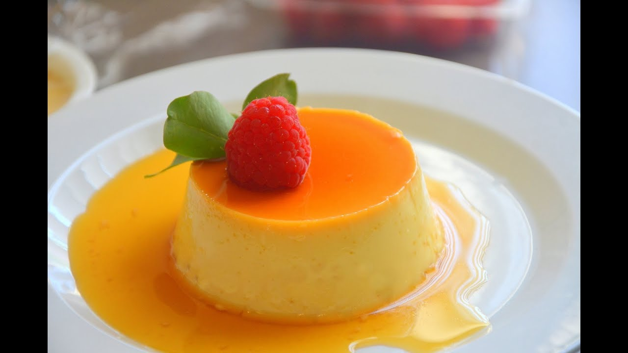 How to Make Crème Caramel (Flan) เครมคาราเมล - YouTube