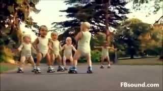 Quảng cáo sôi động cho bé gangnam style funny