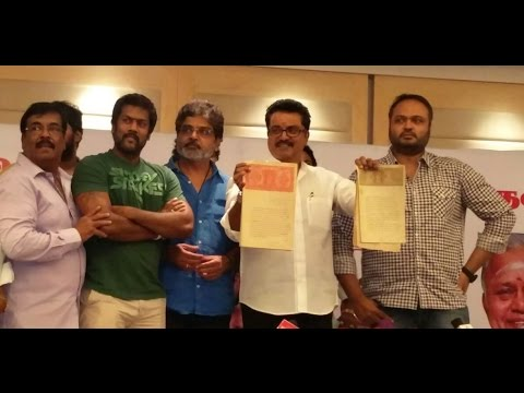 Actor Sarathkumar's detailed speech about Nadigar Sangam issues & Vishal Ani Problems at Press Meet