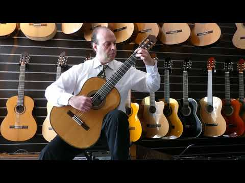 Paco Castillo - 205 Classical guitar demo