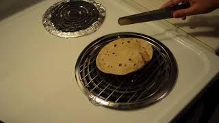 How to Make Roti /Phulka /Chapati Recipe on electric stove/ Chapati on Electric Coil / Puffed Roti