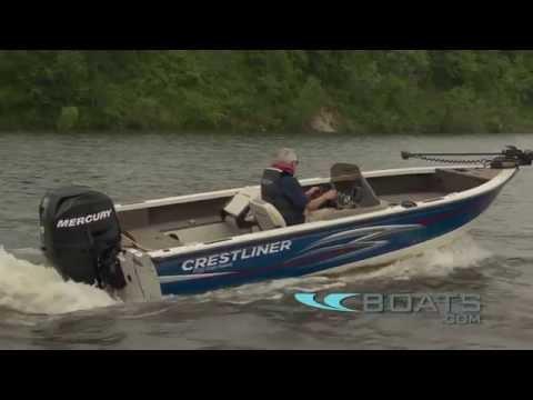 Crestliner 1750 Fish Hawk Boat Review / Performance Test