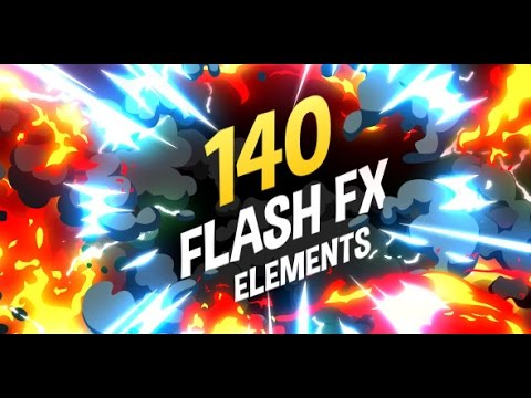 2c3016a3617 140 Flash FX Elements V3 - After Effects