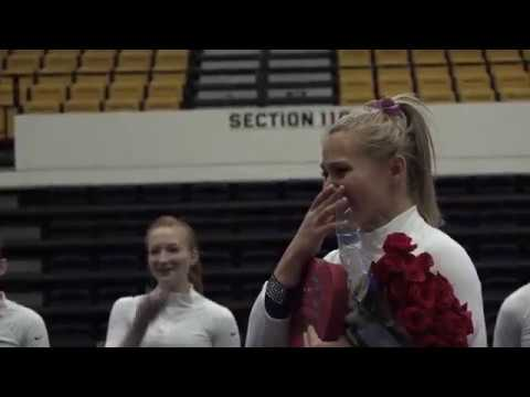 Military Brother Surprises @GWGymnastics Senior