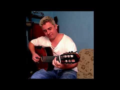 Tocando no violão 7 cordas luthier Piraja - Rodrigo Ferreira