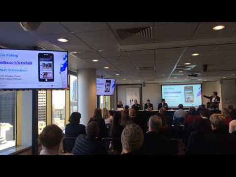 Adelaide discusses Human v Cloud: computing the people factor of legal services [LIVE]