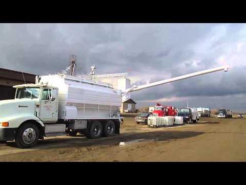 CA0668 1994 International 9200 Bulk Feed Truck