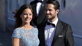 Schweden: Hochzeitsfeiern für Prinz Carl Philip und Sofia Hellqvist begonnen