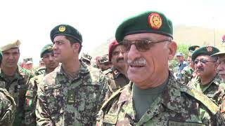 Afghan National Army (ANA) Special Operations Command Activation Ceremony