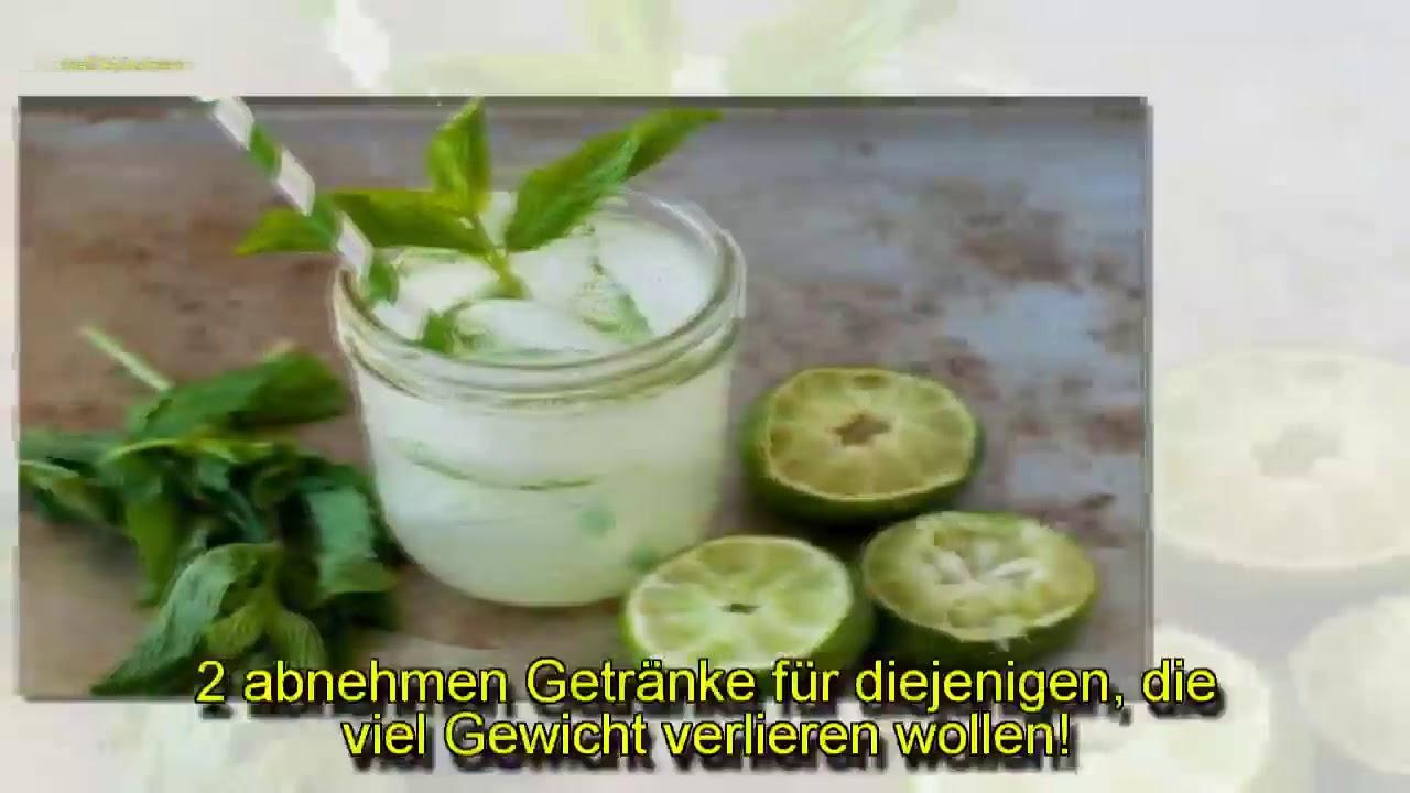 2 abnehmen Getränke für diejenigen, die viel Gewicht verlieren ...