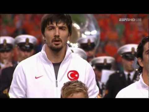 Holland vs Turkey (National Anthems)
