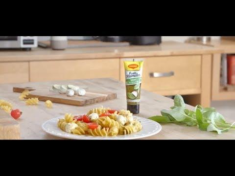 Salade de pâtes avec Purée d'Aromates MAGGI