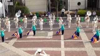 千葉県警察音楽隊&カラーガード隊 AquaWinds(アクア・ウィンズ)によ...
