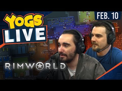 Rimworld w/ Tom & Harry - 3rd February 2018