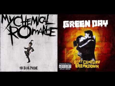 21 Guns Disappear - My Chemical Romance vs Green Day (Mashup)