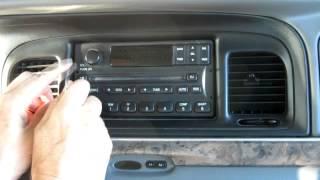 Форд F250 і F 350 Радіо видалення 98 - 07