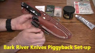 Bark River Knives - Bravo 1.5 paired with Pro Scalpel II - Piggyback Set-up