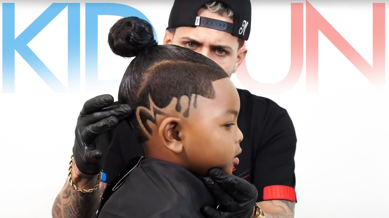 Must Watch KidBun Haircut Tutorial By AROD YouTube