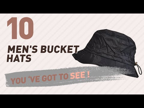 Top 10 Men'S Bucket Hats // UK New & Popular 2017