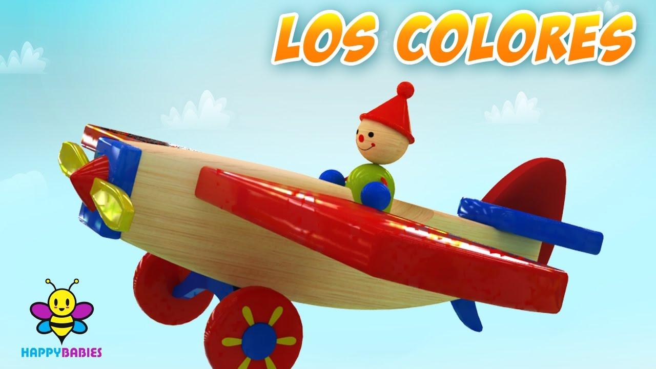 El avión de los colores - video para niños - Happy Babies - YouTube