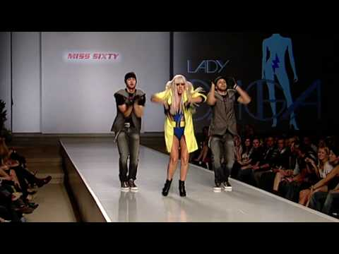 LADY GAGA - FASHION AT THE PARK 2008 - PLANET PRODUCTIONS - DALLAS