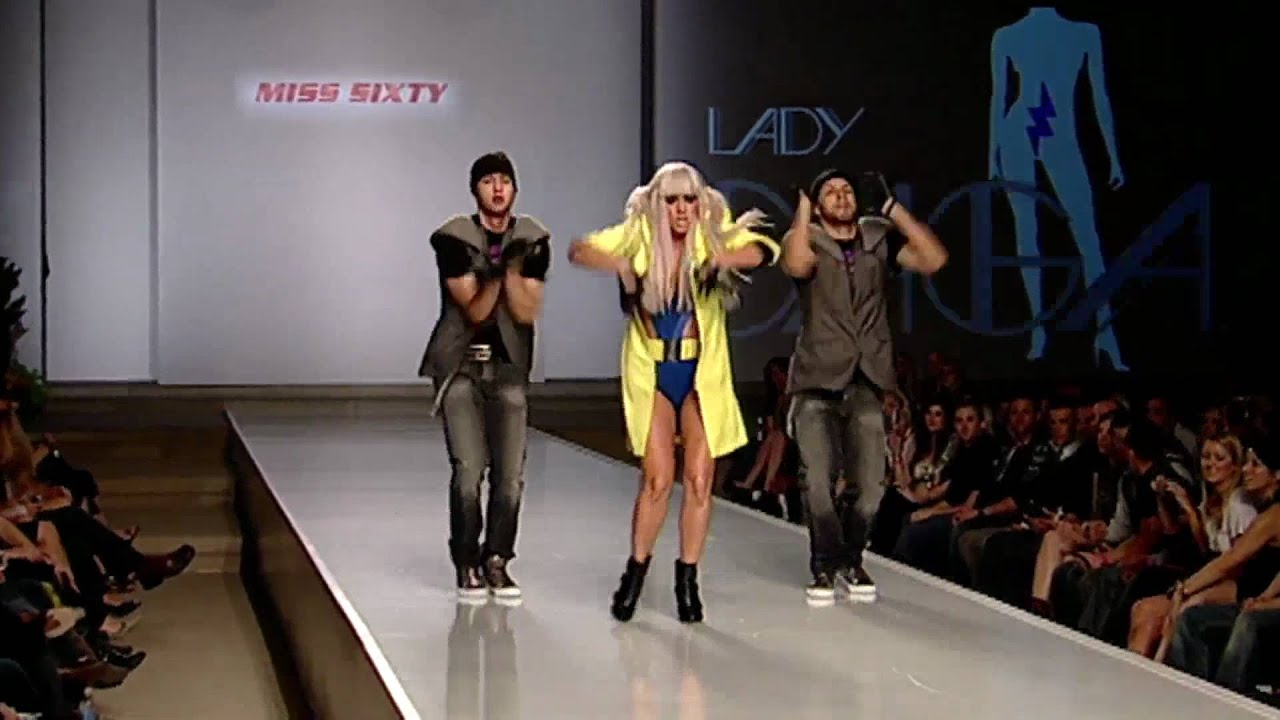LADY GAGA - FASHION AT THE PARK 2008 - PLANET PRODUCTIONS