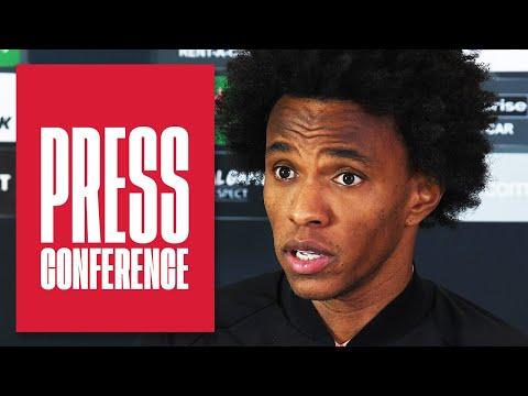 Willian on racism, social media abuse and his form this season   Pre-Slavia Prague press conference