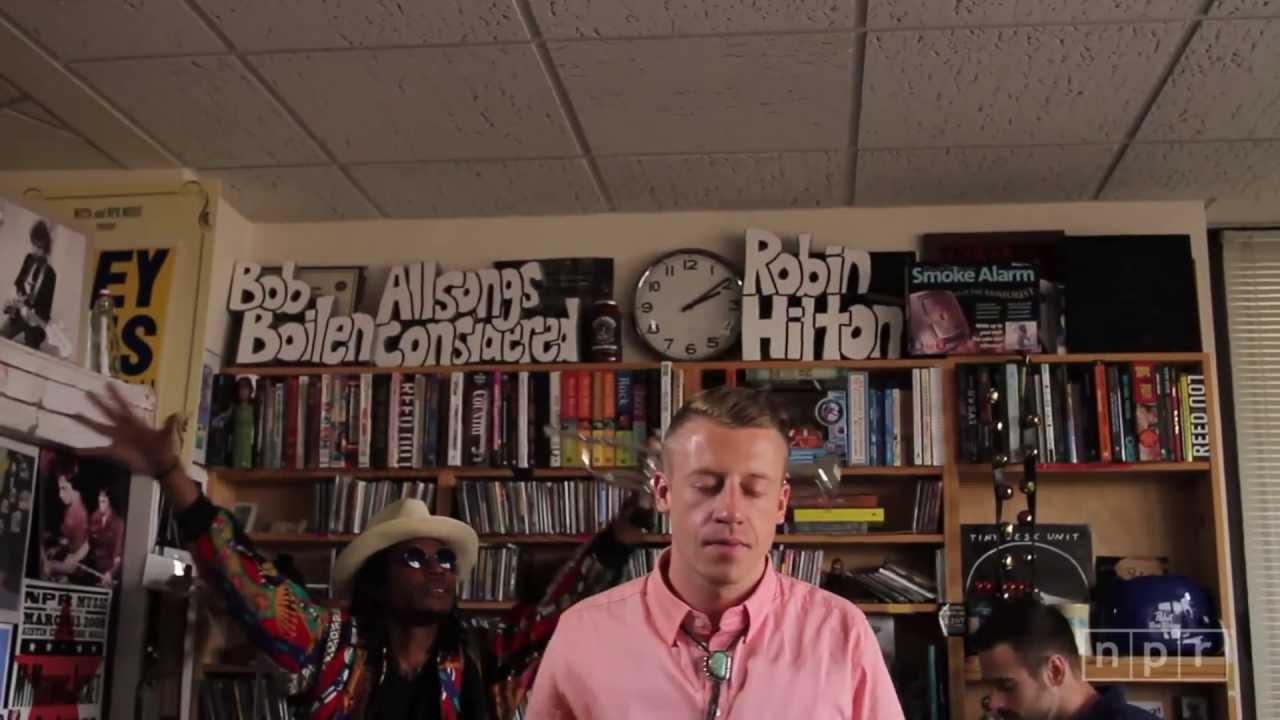Macklemore & Ryan Lewis: NPR Music Tiny Desk Concert