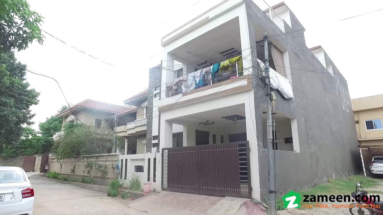 8 MARLA HOUSE FOR SALE IN CHAKLALA SCHEME 3 EXTENSION RAWALPINDI
