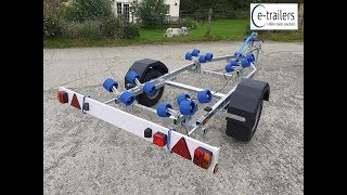 Gambar cover Extreme EXT500 Maxi Super Roller (Wide Wheel) Boat Trailer