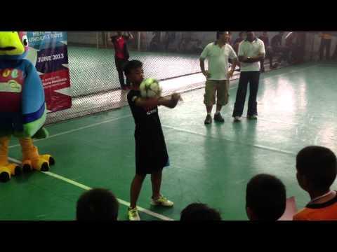 Performance Columbia Asia Charity Futsal 2013 (Shahid)
