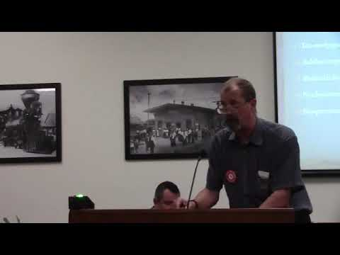 Lives 2 miles from ground zero --Marty Frazier @ Bradford BOCC 2017-08-17