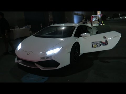 Racing Supercars Through The Streets of Abu Dhabi !!!