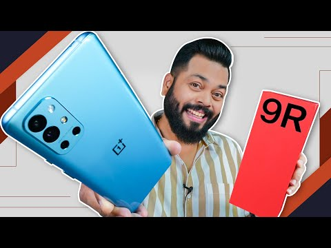 OnePlus 9R Unboxing & First Impressions | Most VFM? ⚡ SD 870, 120Hz & More Under 40,000