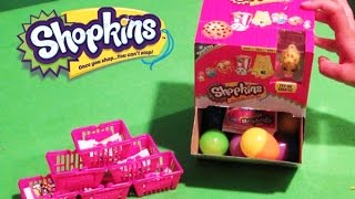 Shopkins Season 2 Micro Lite Box Surprise Egg Game Lot of 10 Eggs