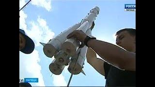 Копии больших ракет летают над Задонском - Вести 24
