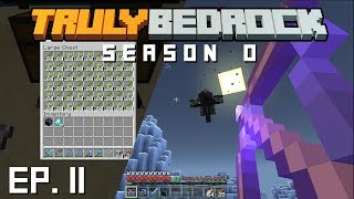 Truly Bedrock s0 e11 Finishing the sugar cane farm, and huge wither fight with server memebrs