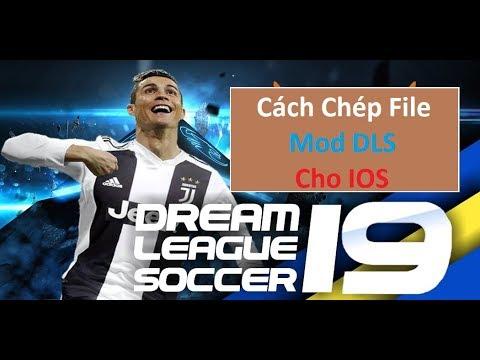 cách hack tiền dream league soccer 2019 ios - CÁCH CHÉP FILE DREAM LEAGUE SOCCER CHO IOS | DOWLOAD FILE