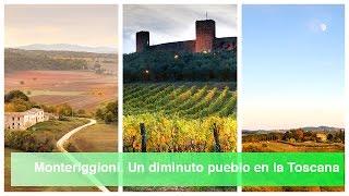 La Toscana en coche. Monteriggioni. El pueblo más pequeño de la Toscana