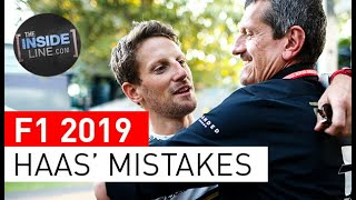 HAAS F1 TEAM: COSTLY MISTAKES
