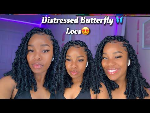 butterfly-locs-tutorial-🦋|-#distressedboblocs-😍