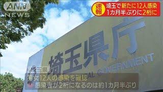 埼玉で新たに12人感染確認 1カ月半ぶり2桁に(20/06/23)