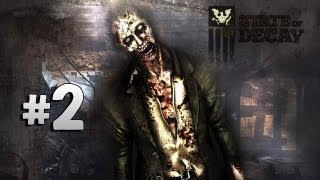 State of Decay Gameplay Walkthrough Part 2 - The Getaway! (Xbox 360/PC/HD)