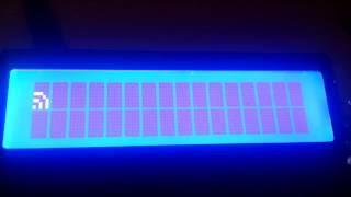 Выводим собственные символы на LCD c HD44780