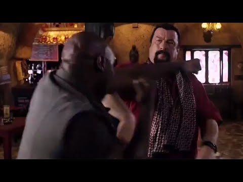 Mike Tyson vs Steven Seagal Fight Scene